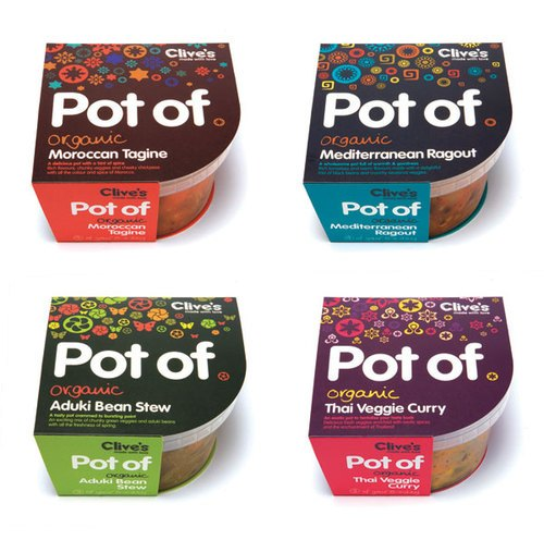 Pot of - Package design