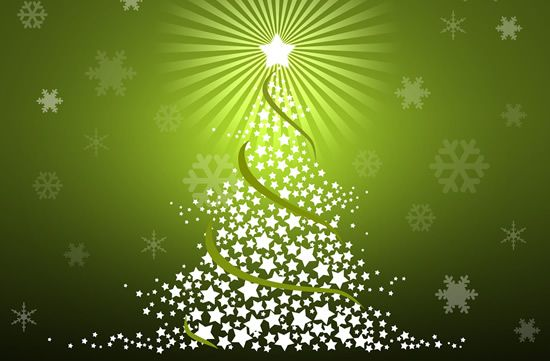 Green Christmas Wallpapers
