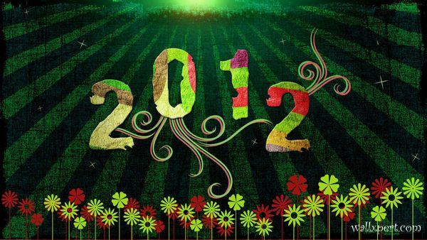 New Year 2012 Walllpaper