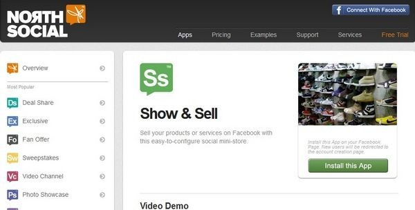 Apps for Facebook E-Commerce Store