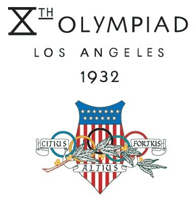 1932 Los Angeles Olympics logo
