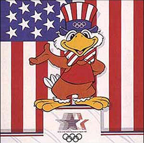 1984 Los Angeles Olympics Mascot - Sam