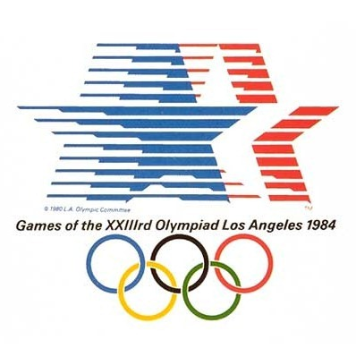 1984 Los Angeles Olympics logo
