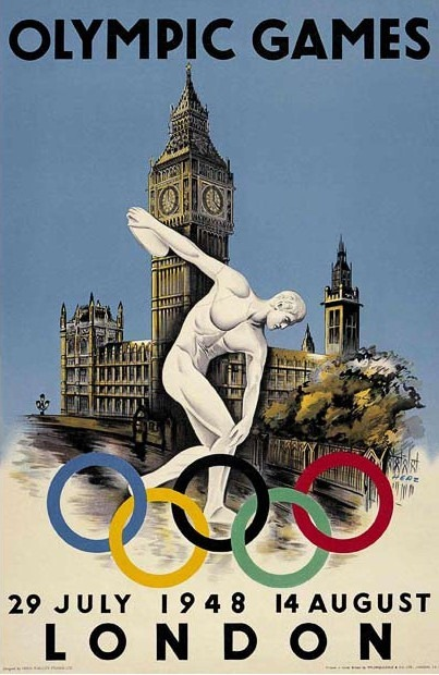 London _UK_1948_olympic_poster