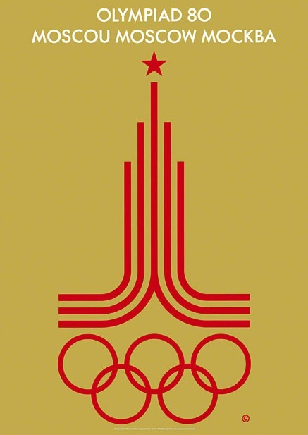 Moscow_Soviet Union_1980_olympic_poster