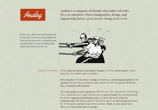 typography in web design 17