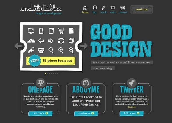 typography in web design 19