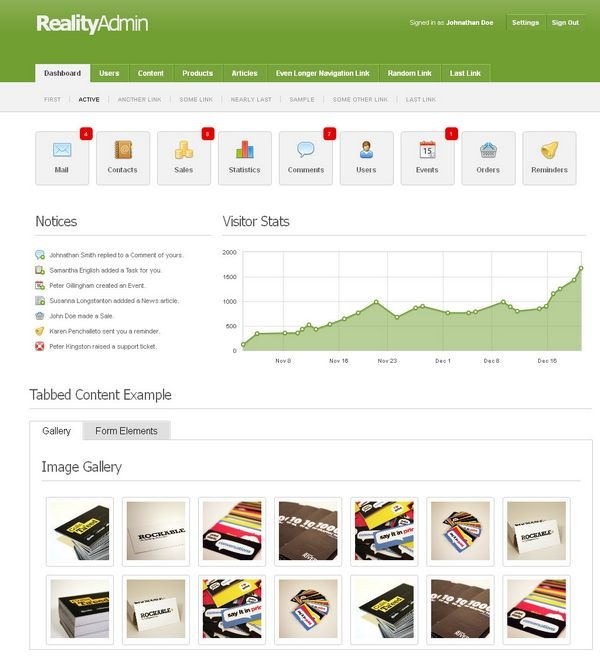 web admin panel templates 122947