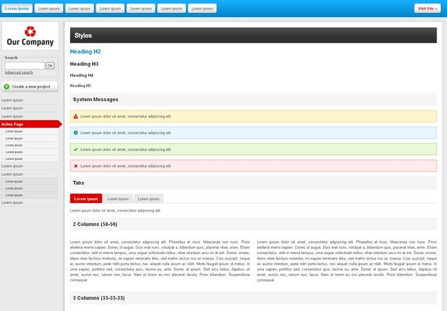 18 Free Backend Admin Panel And Dashboard Templates Artatm