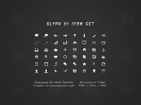 Glyph-UI-Icon-Set-ID