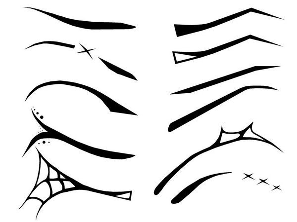 Gothic_Eyebrows_by_linore