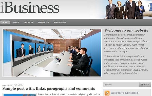 ibusiness_free_wordpress_themes