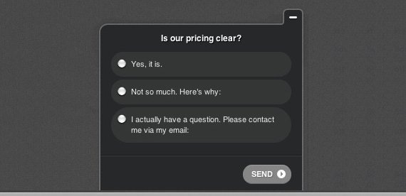 pricing-survey-question