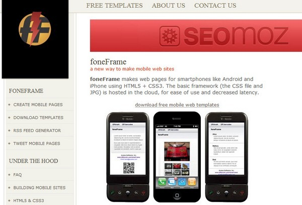 foneframe_tools_to_create_mobile_website