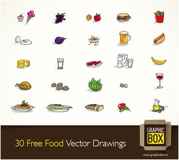 food_vector_graphics_collection_17