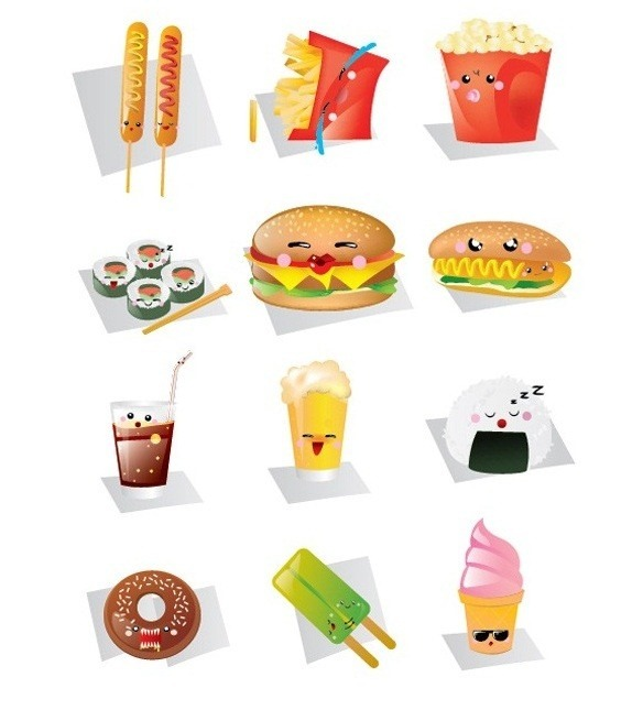 food_vector_graphics_collection_8