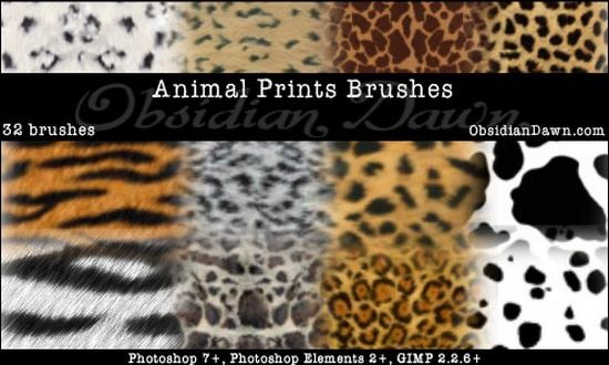 Animal_Prints_PS_Brushes_by_redheadstock
