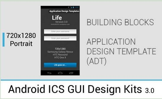 Useful and Free UI PSD Files For Android | Artatm - Creative Art