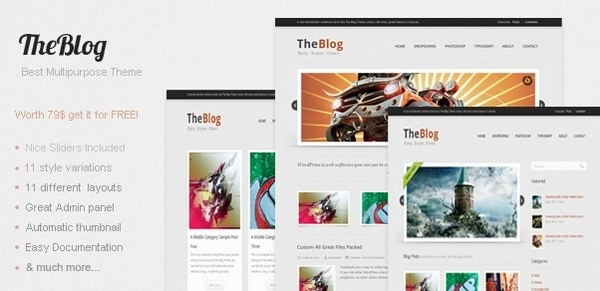 the_blog_wordpress_professional_business_themes