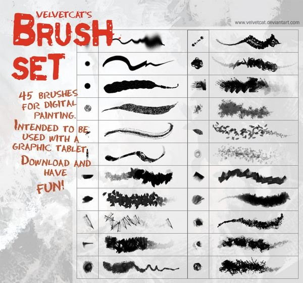 velvetcat__s_brush_set_by_velvetcat-d298fus