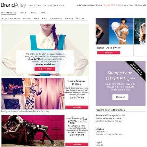 brandalley_well_designed_ecommerce_websites