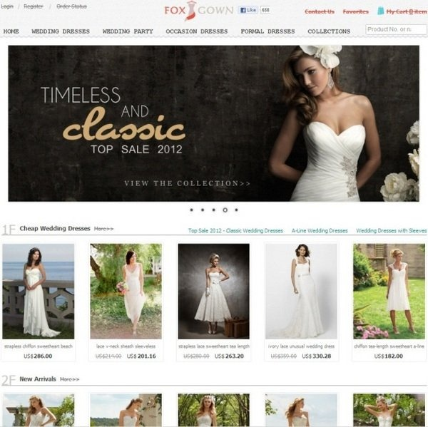 foxgown_well_designed_ecommerce_websites