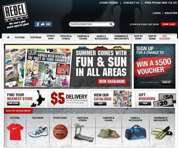 rebelsport_well_designed_ecommerce_websites