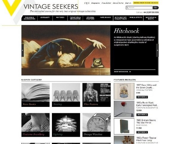 vintageseekers_well_designed_ecommerce_websites