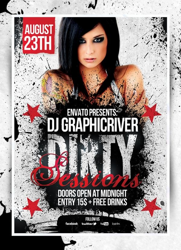 dirty_sessions_party_flyers