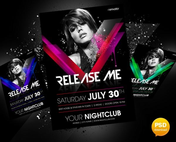 release_me_party_flyer