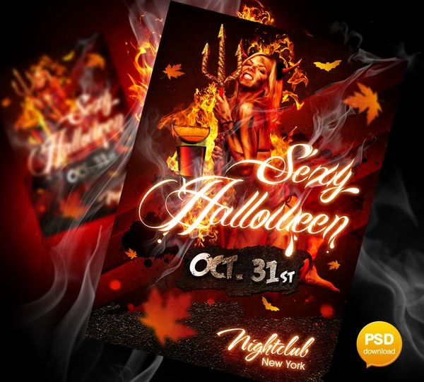 sexy_halloween_party_flyer
