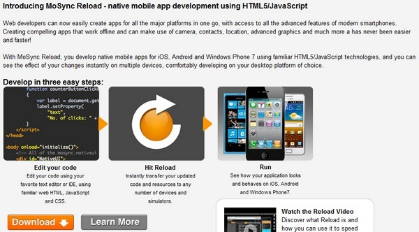 mosync_reload_html5_tools_for_cross_platform_mobile_apps