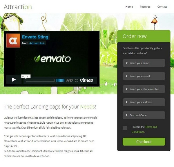 Attraction_landing_page_template