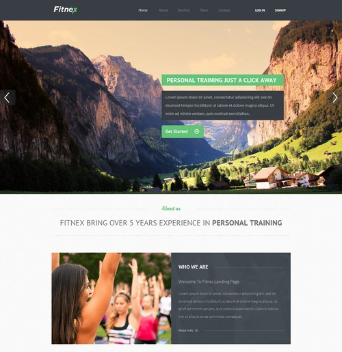 Fitnex_landing_page_template