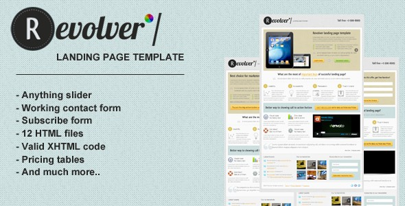 Revolver_landing_page_template