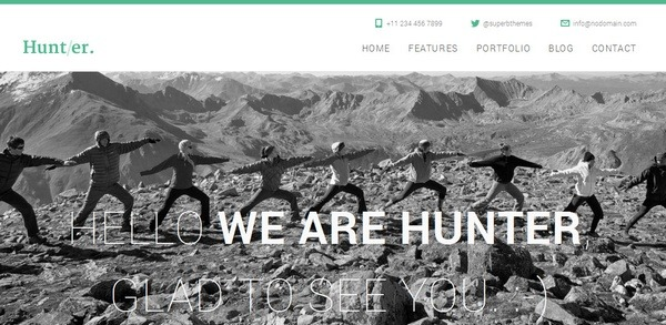 hunter_wordpress_html5_themes