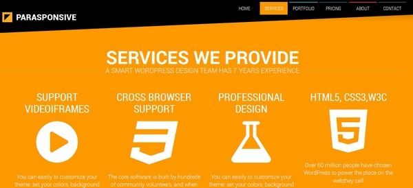 parasponsive_wordpress_html5_themes