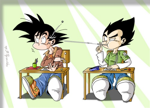 Chibi_Goku_and_Vegeta_by_BlazeCK_PL