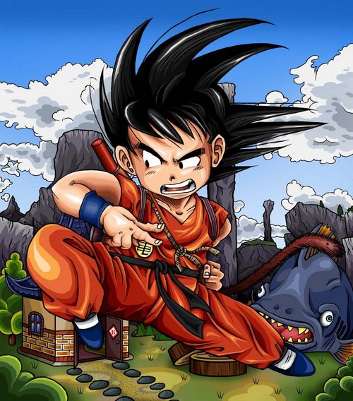 Dragonball_Z___Kid_Goku_by_TimothyJamesF