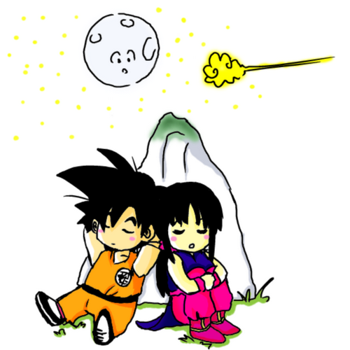 Goku_and_chichi_by_Isuk